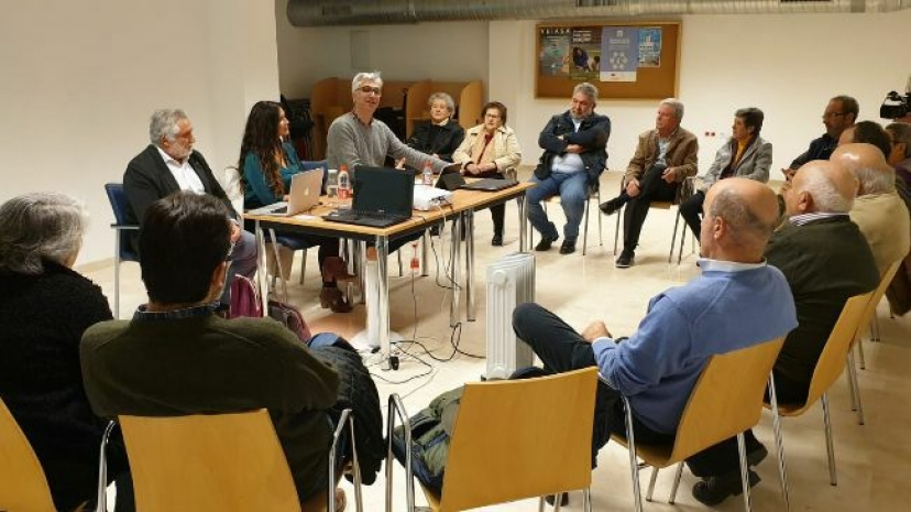 IU Estepa rinde cuentas de su trabajo en defensa de la Sierra del Becerrero