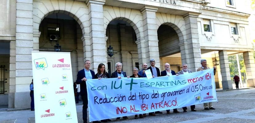IU Espartinas presenta denuncia ante la Fiscalía de Sevilla contra los Alcaldes y Alcaldesa de C's que han regido el Ayuntamiento de Espartinas