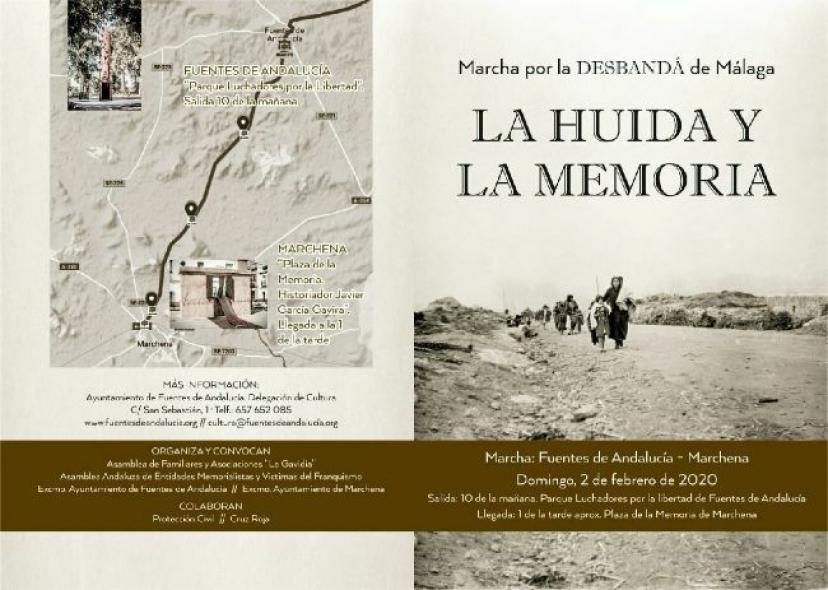 IU Sevilla participará este domingo en la Marcha «La Huida y la Memoria»