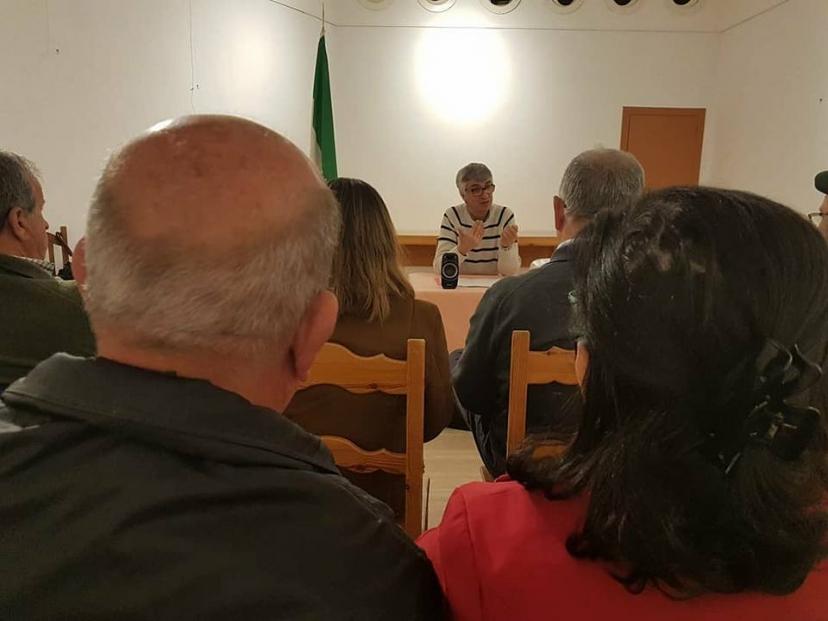 Charla Debate sobre el 28 F en Santiponce
