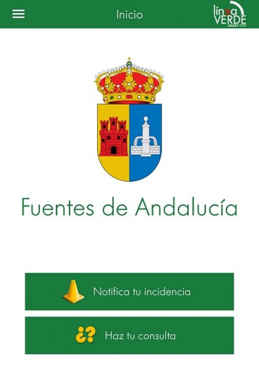"""Fuentes de Andalucía presenta la APP """"Línea Verde"""""""
