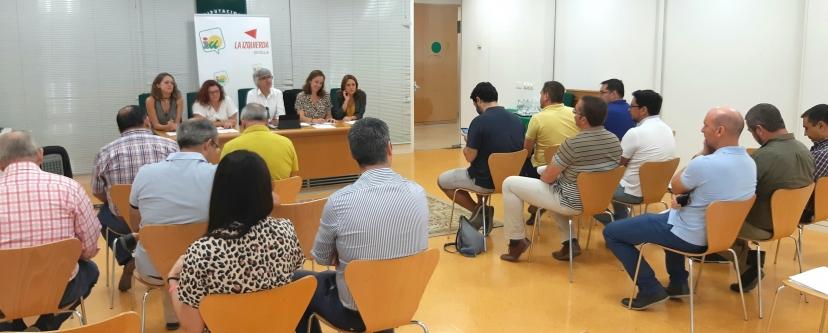 IU Sevilla reivindica a la Junta de Andalucía el pago a los Ayuntamientos de la PATRICA
