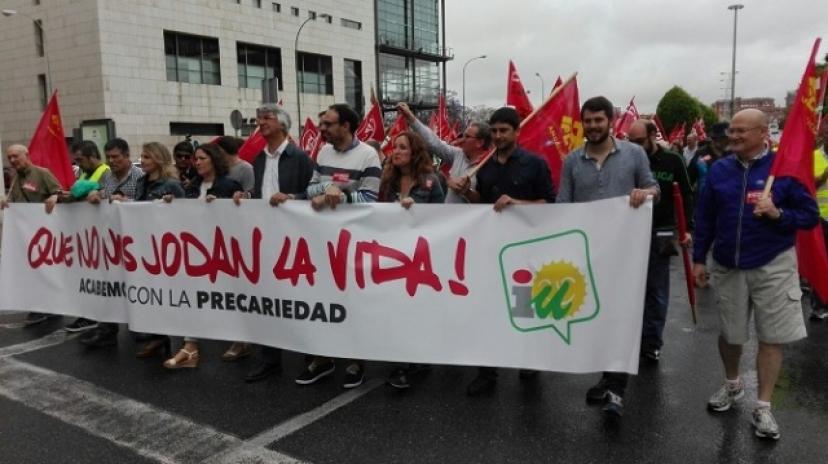 IU Sevilla saluda el éxito de las Marchas Jornaleras y apoya la huelga del campo en Sevilla