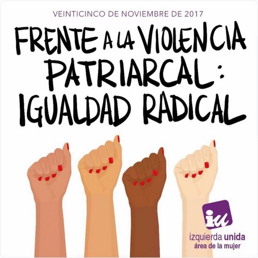 25N: Frente a la violencia patriarcal, igualdad radical
