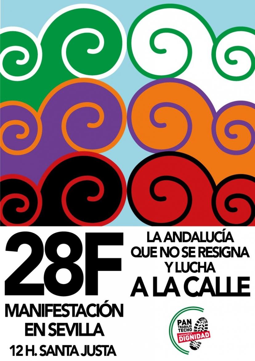 Llamamiento del Coordinador Provincial de IU Sevilla para el 28F
