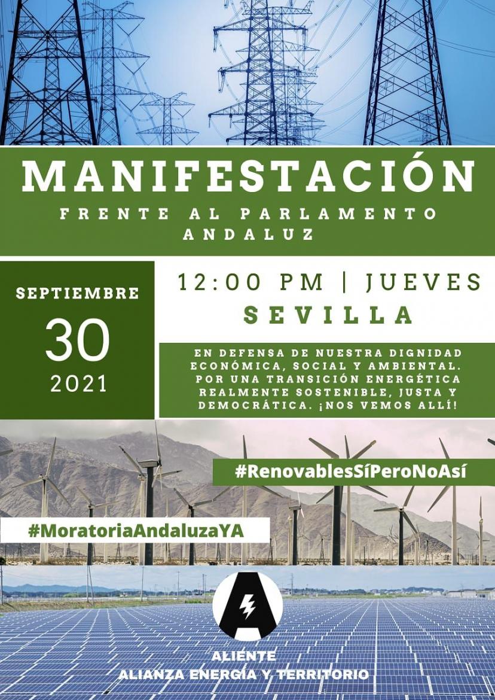 Jueves 30: Convocatoria del Área de Medio Ambiente en IU Sevilla
