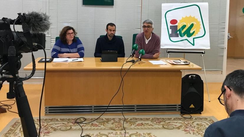 PGE 2018: IU acusa al gobierno de Rajoy de acumular desde 2012 una deuda histórica de 1.400 millones de euros con la provincia de Sevilla