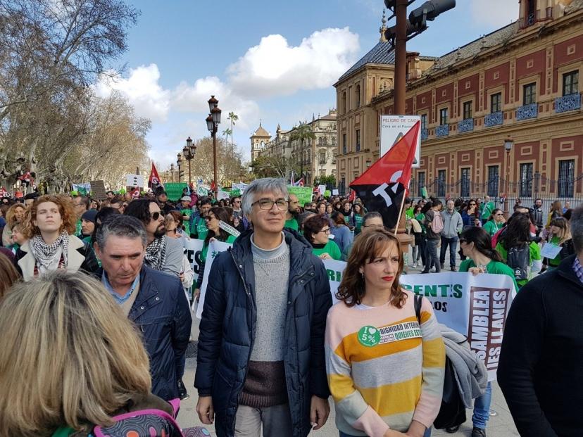 Apoyo a la huelga del Profesorado Interino