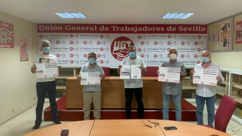 IU Sevilla participará en la movilización del 28J por un pacto para la reconstrucción de nuestro país