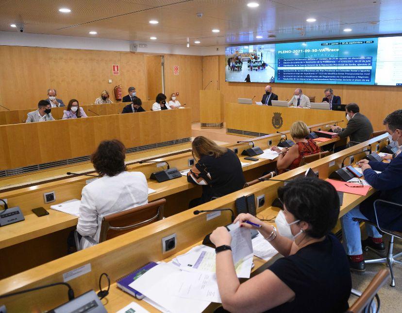 Diputación: el pleno aprueba exigir a la Junta la recuperación de la atención primaria de salud con calidad asistencial